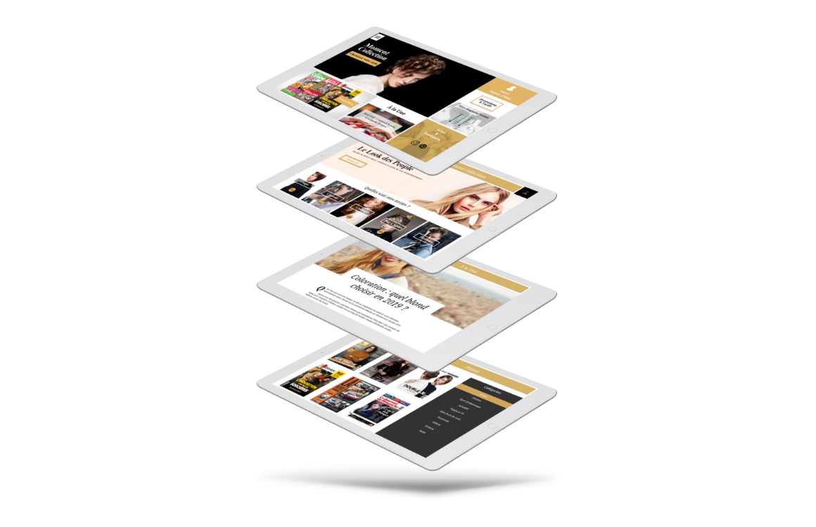 Interface tablette client dispositif instore